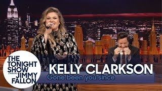 "Download Lagu Kelly Clarkson Sings ""Since U Been Gone"" (""Gone Been U Since"") Backwards Gratis STAFABAND"