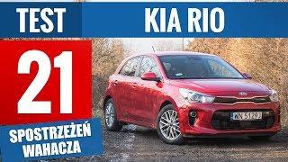 KIA Rio L 1.2 DOHC 84 KM (2018) - TEST PL