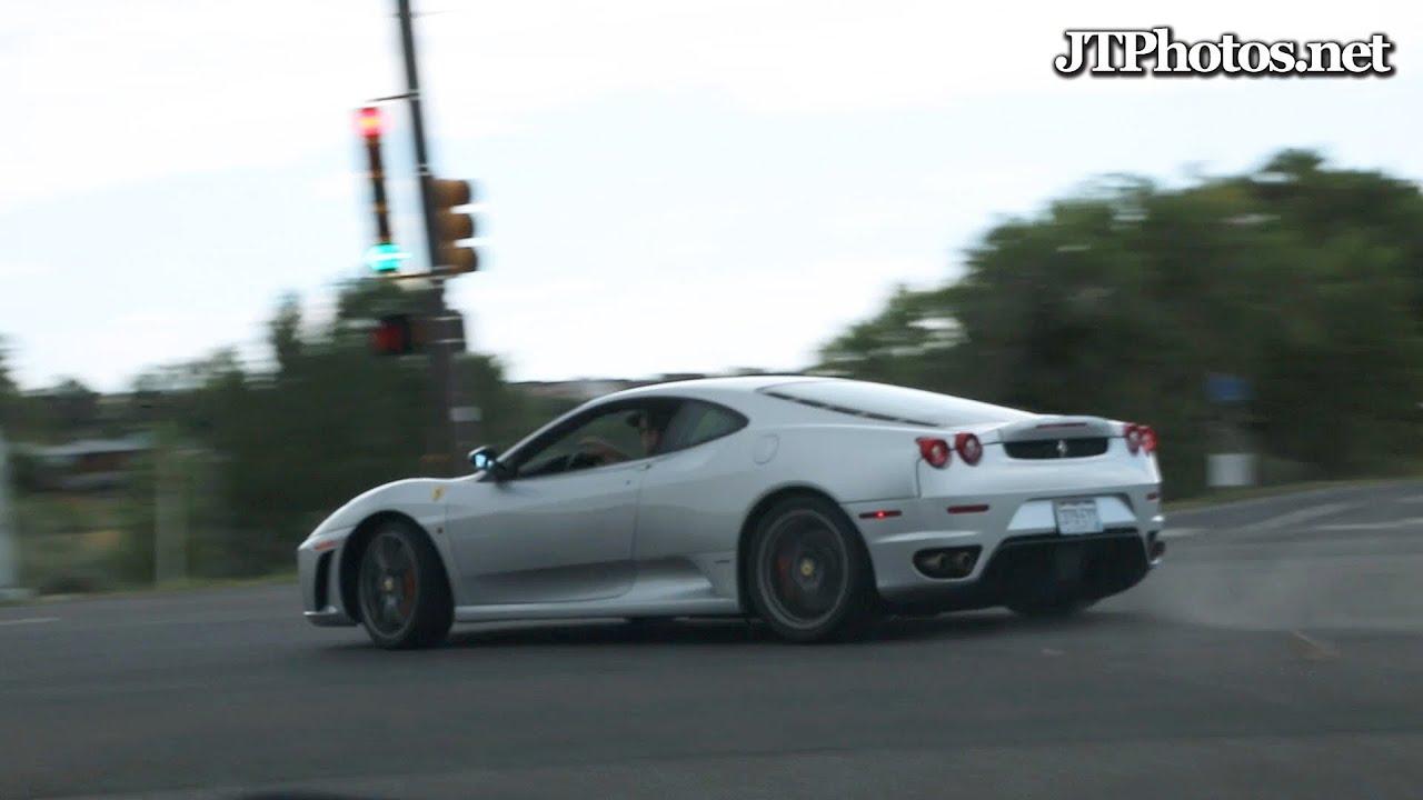Ferrari F430 Drifting Through