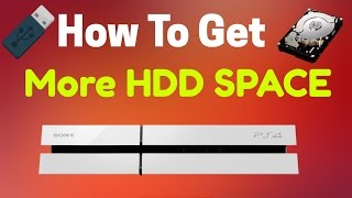How To Get More Space On Your PLAYSTATION HDD  Hard Drive And Make It FASTER