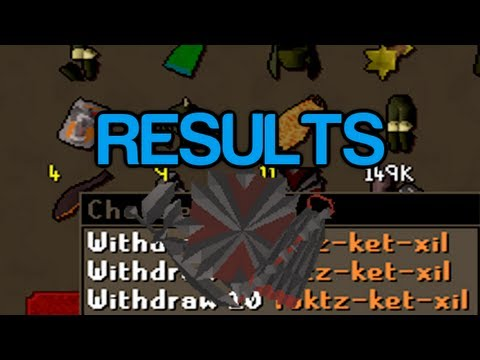 Runescape 2007 – Sparc Mac's 80-90 Strength Tzhaar Drop Results & More!