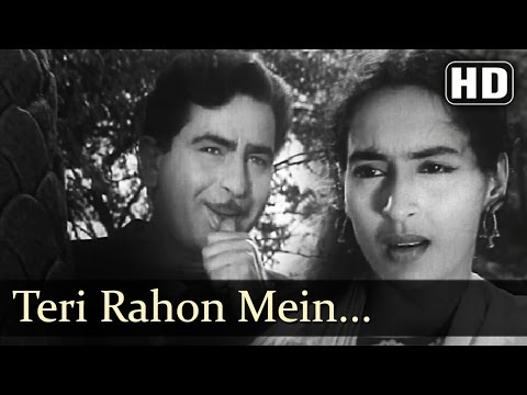 Teri Rahon Mein Khade Hain - Nutan - Chhalia - Mukesh - Lata...