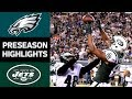 Eagles Vs Jets NFL Preseason Week 4 Game Highlights mp3