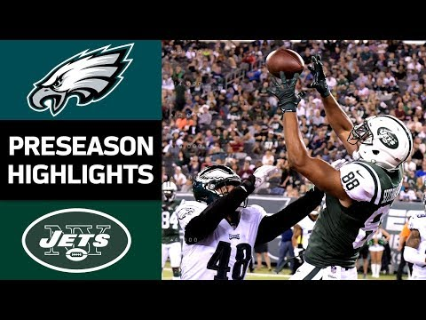 Eagles vs. Jets | NFL Preseason Week 4 Game Highlights