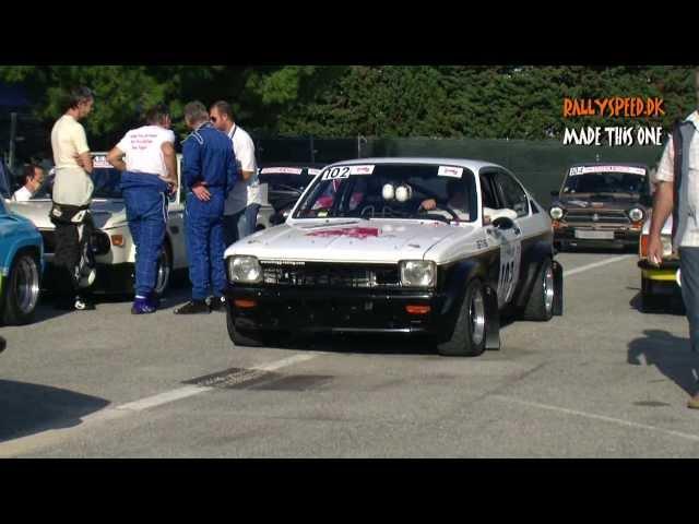 Classic Rally Cars - Rally Antibes Cöte d'Azur 2012