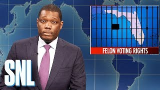 Weekend Update: Florida Voting Rights Initiative - SNL