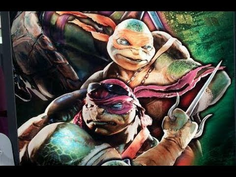 Let's Look at Michael Bay's New Teenage Mutant Ninja Turtles