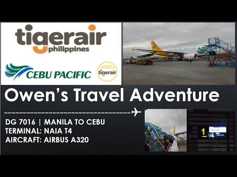 Tiger Air Philippines DG7016 MANILA TO CEBU