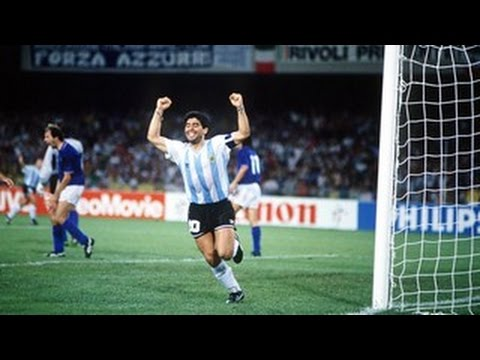 Argentina - Italy World Cup 1990 semifinal penalties FULL