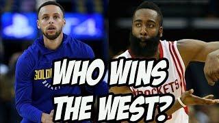 Rockets vs Warriors West Finals - Who Wins? NBA Playoffs 2018