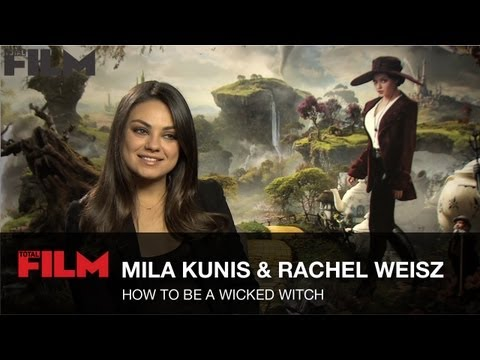 How To Be A Wicked Movie Witch with Mila Kunis and Rachel Weisz