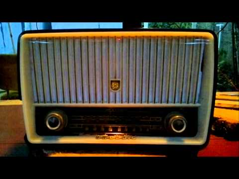 Grundig Type 85 WE (1956) - Restoration and listening by CX3CT and CX2ABP