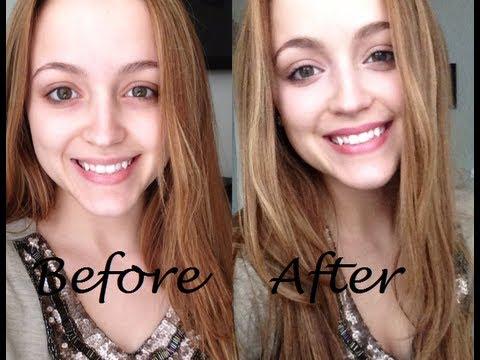 "my ""no makeup"" makeup look  how to look natural with"