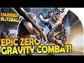 EPIC ZERO GRAVITY COMBAT- NEW HARRIER CLASS - RICK and MORTY BLITZBALL - LawBreakers Gameplay Part 1