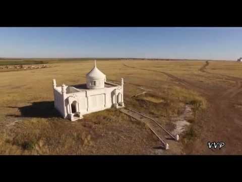 Сопка Акмол п.Тайтобе, Астана Казахстан. Astana Kazakhstan