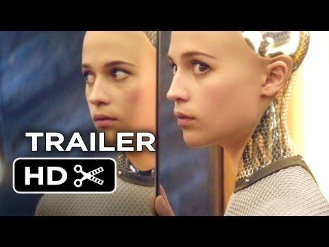 Ex Machina Official Trailer #1 (2015) - Domhnall Gleeson, Oscar Isaac Movie HD