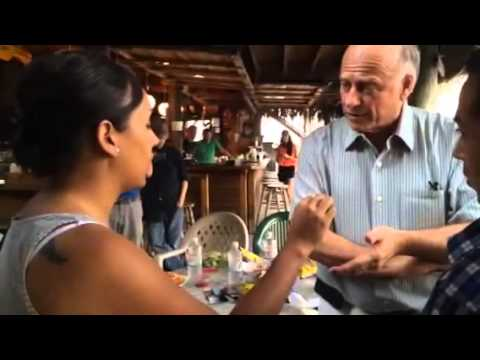 DREAMers Erika Andiola & Cesar Vargas confront Steve King in Okoboji, Iowa for trying to end DACA