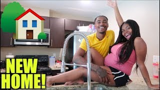 OFFICIAL NEW EMPTY HOUSE TOUR ‼️ tay and jass