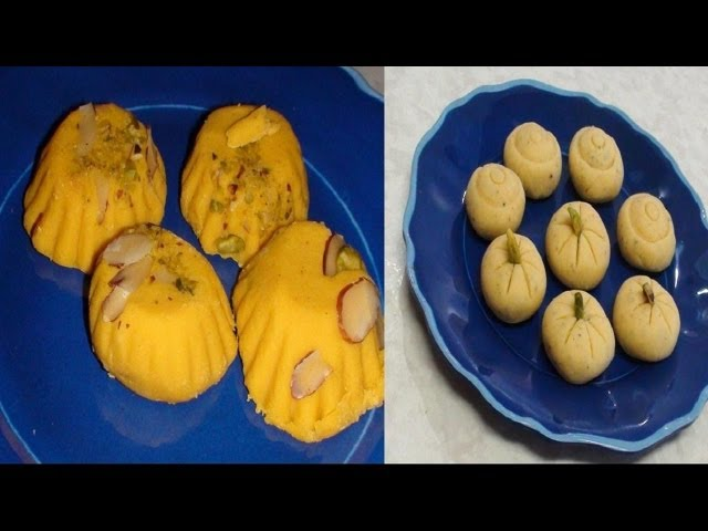 Malai Peda Recipe- Milk Fudge - Indian Recipe Videos by Bhavna