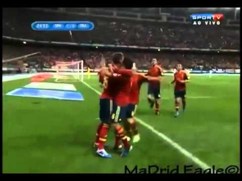 Sergio Ramos Amazing celebration after his goal against France