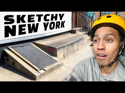 Can Park Skaters SURVIVE The Streets of NYC?