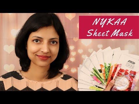 Nykaa Skin Secrets Sheet Mask Review & Demo | All 11 Sheet Masks Review in Hindi