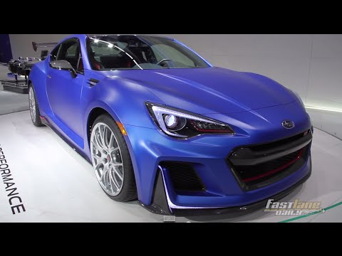 Subaru BRZ STI Performance Concept - 2015 NYIAS - Fast Lane Daily