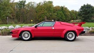 Driving a Lamborghini Jalpa