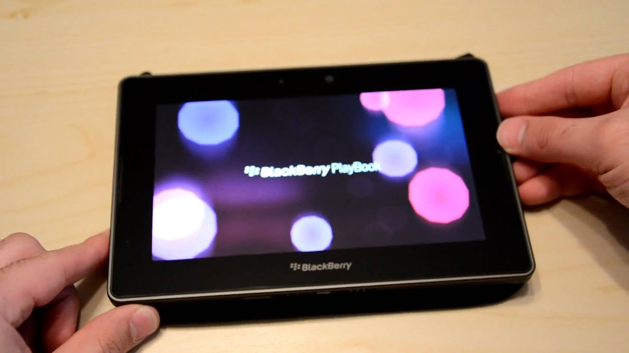 did blackberry playbook will not turn on guide