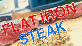 Wagyu Fat aged FLAT IRON STEAK im Flip Flip Style grillen —- Klaus grillt