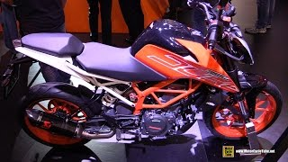 2017 KTM 390 Duke - Walkaround - Debut at 2016 EICMA Milan
