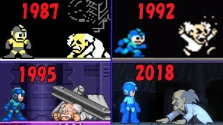 ロックマン1~11 Dr.ワイリー戦の歴史(1987-2018) | Evolution of Dr Wily Battle