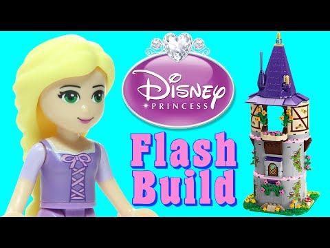 LEGO Rapunzel's Creativity Tower 41054 Disney Princess Tangled Speed Build