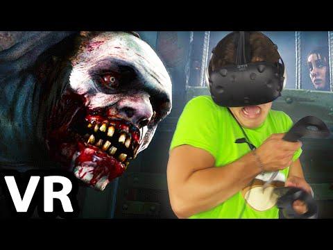 SCARY VIRTUAL REALITY HORROR! (HTC Vive)