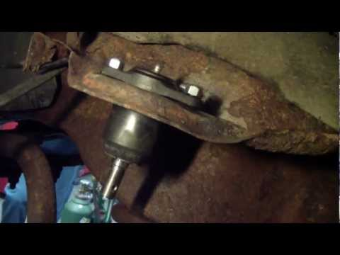Upper and Lower Ball Joint Change in a Chevy Half Ton Two Wheel Drive 1500