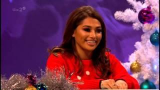 Vanessa White (The Saturdays) - Celebrity Juice (part 1) - 12th December 2013