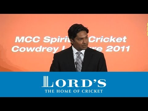 MCC Cowdrey Lecture 2011 - Part 1 | The Spirit of Cricket