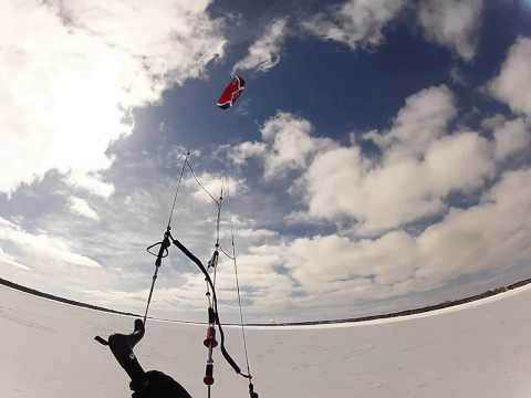 GoPro: Kiting Little Bay de Noc