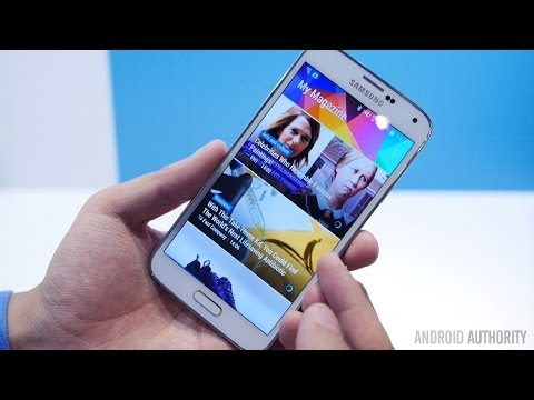 Samsung Galaxy S5 Features Overview! - Feature Focus [MWC 2014]