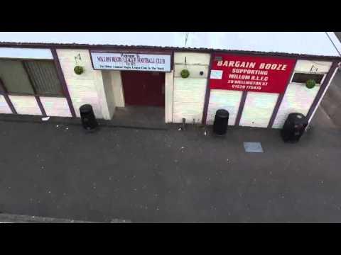 Millom Rugby League Football Club -Coronation Field - Aerial Video