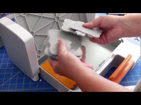 Fiskars Fuse  Creativity System How To Use Accuquilt Dies & Chipboard