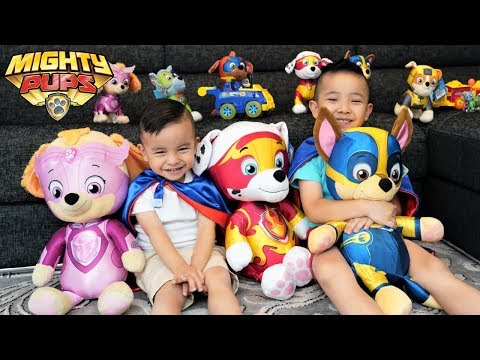 MIGHTY PUPS PAW Patrol Toys Movie Night Fun With Ckn