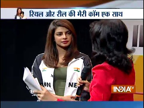Playing Mary Kom was 'extra challenging' for Priyanka Chopra
