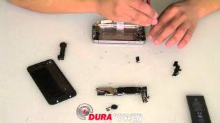 Apple iPhone 4 Home Button Replacement Directions by DurapowerGlobal.com
