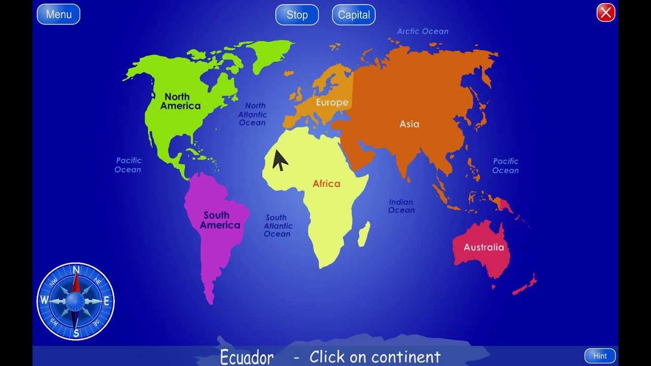 Geo4Kids - world atlas...