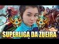 Lagu CNB CUTE, A PRIMEIRA MULHER NO COMPETITIVO DE LOL DO BRASIL - SUPERLIGA DA ZUEIRA