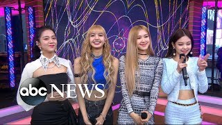 K Pop Superstars Blackpink Announce North American Tour Gma