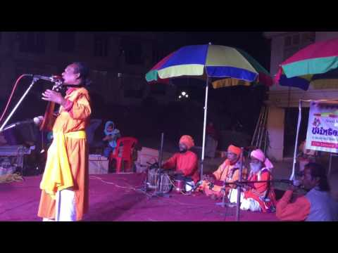 Basudeb Das Baul  Sings in  Kolkata India