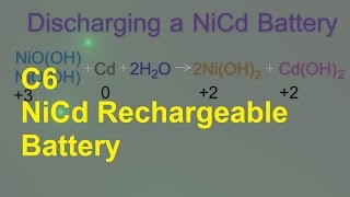 C6 NiCd Rechargeable Battery [HL IB Chemistry]