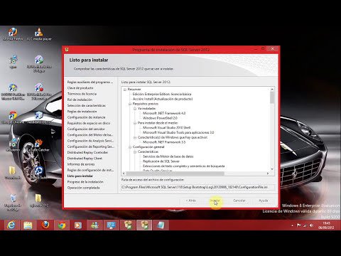 Descarga e Instalación de SQL Server 2012 en Windows 8